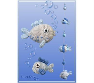 Frische Fische - Häkelanleitung