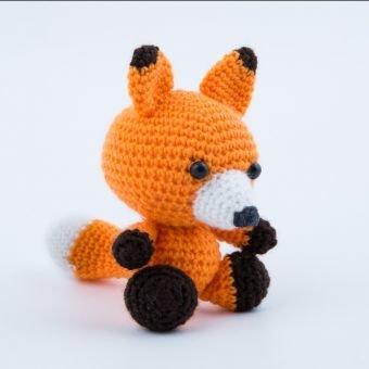 Häkeanleitung der kleinen Fuchs