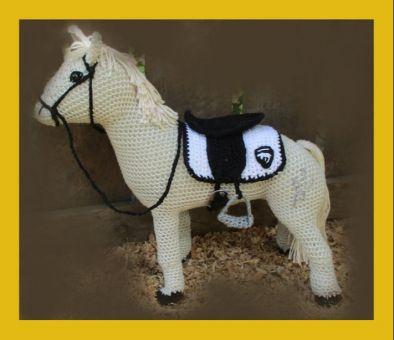 Sylvia und ihr Pferd Primula