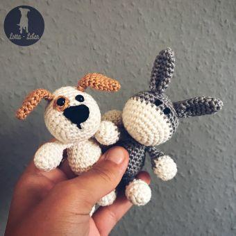 Häkelanleitung Mini-Hund