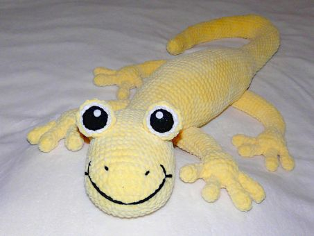 Häkelanleitung Baxter der Salamander