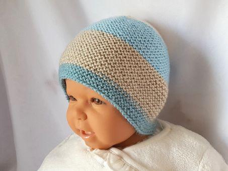 Strickanleitung Babymütze, Baby-Mütze