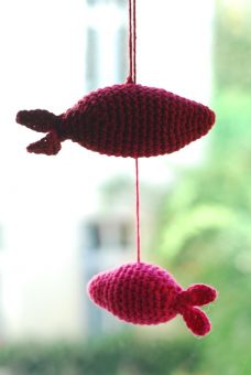 Fische Mobile