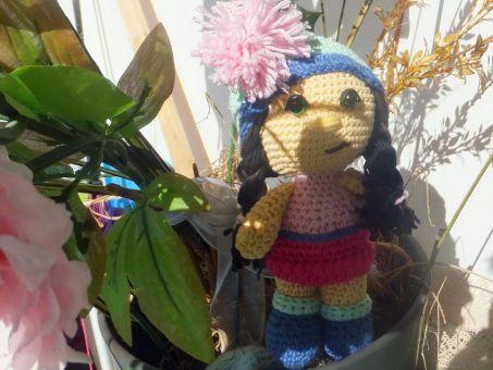 kleine Puppe Susi