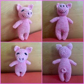 Kleines Schweinchen Amigurumi