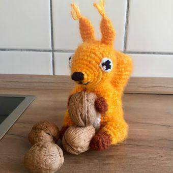 Eichhörnchen Elke häkeln