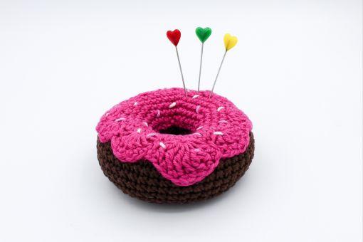 Häkelanleitung Nadelkissen Donut