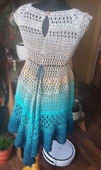 RVO Kleid häkeln, Elsa