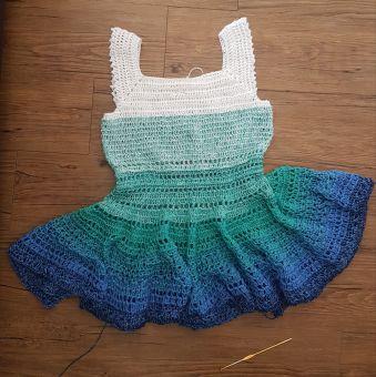 RVO Kleid häkeln, Amy