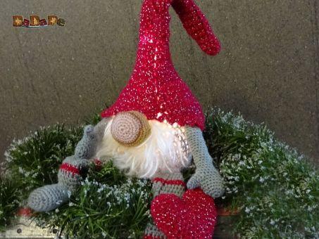 Weihnachtswichtel Wummel und Winni, beleuchtet