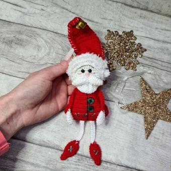Süßen Weihnachtsmann häkeln