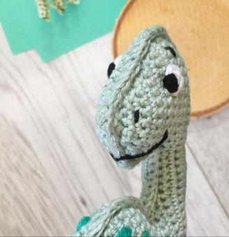 Häkelanleitung Dino Djego