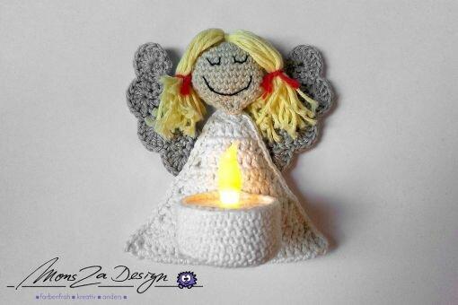 Engelchen mit Kerze