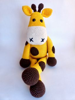 Sparset Giraffe Glückskind