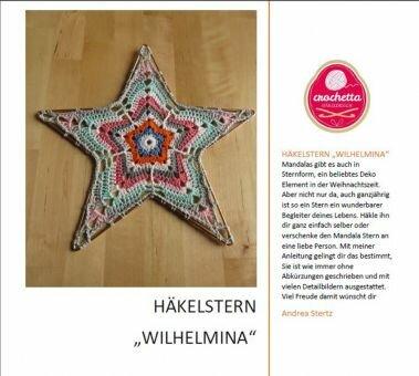 """Häkelstern """"Wilhelmina"""""""