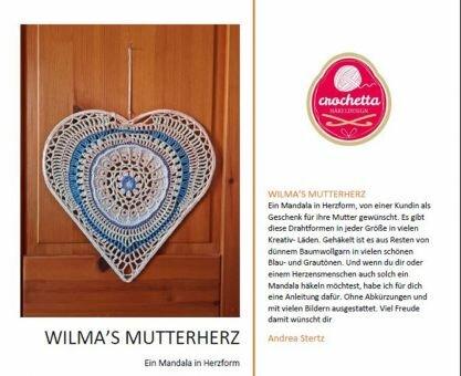 Mandala Wilmas Mutterherz