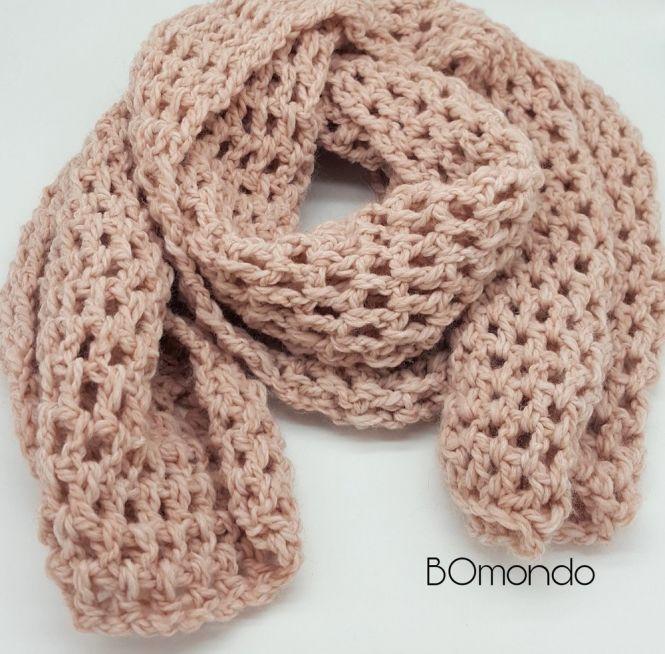 BOmondo - Häkelanleitung Schal/Loop Belinda | MyBoshi.net