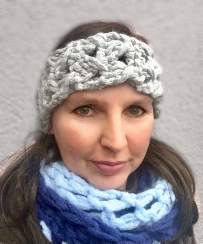 crochetmama - Häkelanleitung Stirnband CRAZY CHAIN | MyBoshi.net