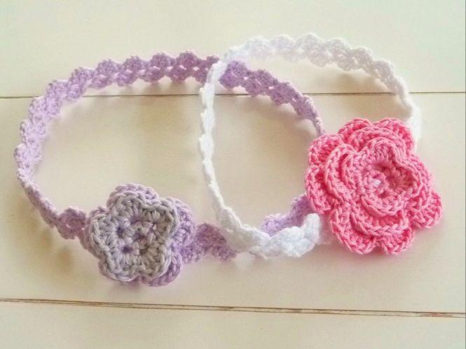 WoolAffair - Häkelanleitung Haarband mit Häkelblüte - No.31 ...