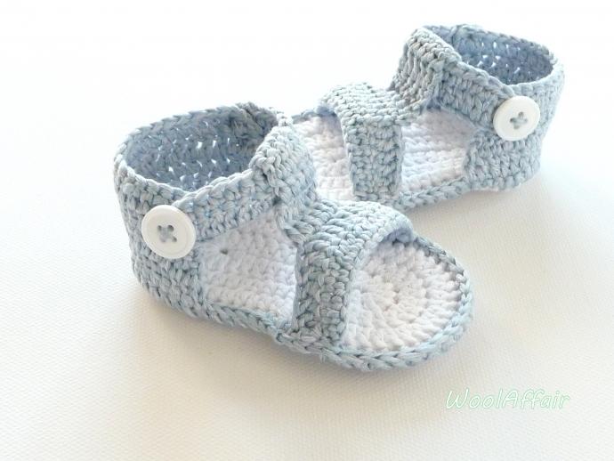 h kelmuster f r babyschuhe sandals 3 anleitung. Black Bedroom Furniture Sets. Home Design Ideas
