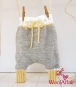 (75) Babyhose stricken - Strickanleitung für Babyharemshose