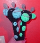 Greifling Giraffe für Babys - Häkelanleitung - Amigurumi Art