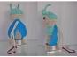 Blitzi Glühwürmchen Häkelanleitung - mit Reflektionsgarn