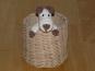 Häkelanleitung Schlüsselanhänger, Taschenbaumler Hund
