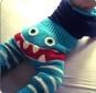 Häkelanleitung: Pumphose Monster Gr. 56,62,68, 2 Passformen