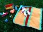Puppenpflegeset Häkelanleitung, Windel, Handtuch, Waschzeug