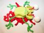 Toter Frosch - Amigurumi - Häkelanleitung