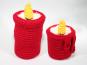 Kerzen - brennend oder ausgebrannt