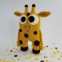 Häkelanleitung > Kuschelbuddie No.12 Giraffe Gerry <