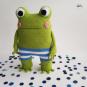 Häkelanleitung > Kuschelbuddie No.15 Frosch Ferdinand <