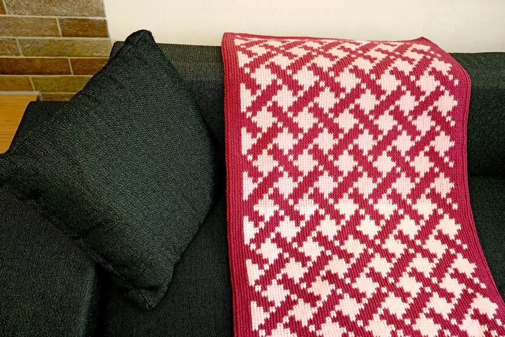 so einfach war es noch nie eine decke zu h keln. Black Bedroom Furniture Sets. Home Design Ideas
