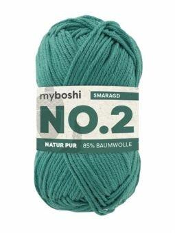 myboshi No.2: Lieblingswolle in 30 Farben smaragd