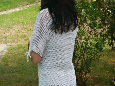 Netzshirt alle Größen oversize White Collection No.2