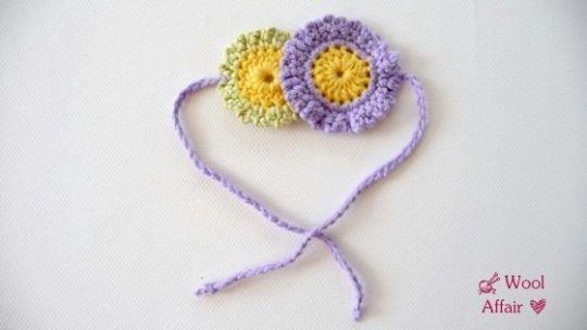 Häkelanleitung für Baby Stiefelchen mit Blumen - No.63