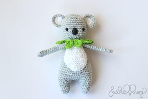 Häkelanleitung James Koala