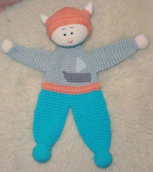 Häkeln Sie Wikinger Spielzeug. Amigurumi Wikinger-Puppe. | Etsy | 340x303