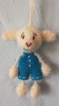 Schafe als Taschenbaumler....