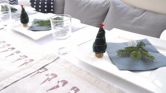 Strickanleitung - Tannenbaum Weihnachtsbaum Deko - No.124