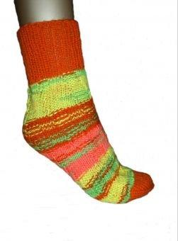 Strickanleitung Spiral-Socken, ideal für Anfänger