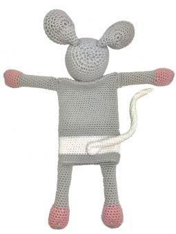 Häkelanleitung Wärmekissenbezug Maus Phipes