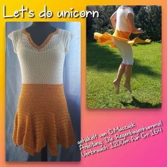 Kleid Let´s do Unicorn