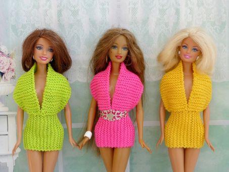 Strickanleitung -Sommerkleid für Puppen