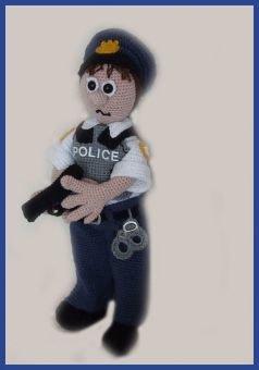 Sergeant Pepper,  PDF Häkelanleitung Puppe Amigurumi