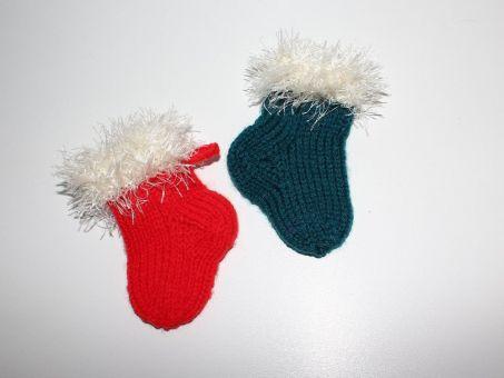 Strickanleitung Weihnachtssocke, Nikolausstiefel