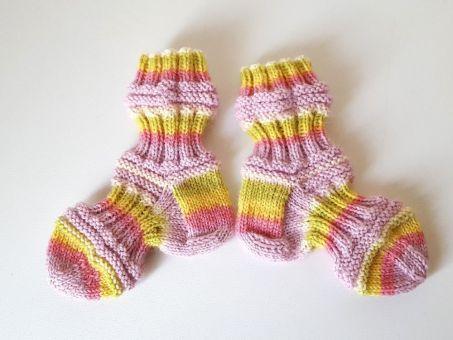 Strickanleitung Baby-Mojo-Socken, Glückssocken