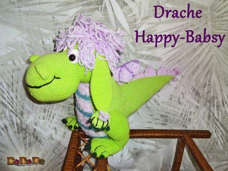 Drache Happy-Babsy, Häkelanleitung von DaDaDe